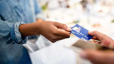 accept visa payments